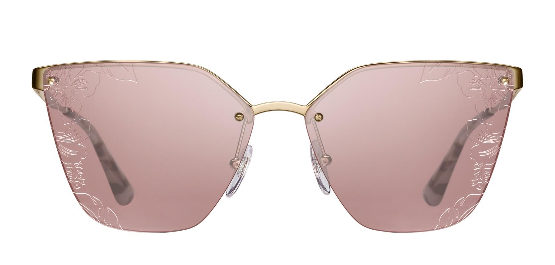 7522239d24f6 Prada - Prada Cinéma - Dark Gold Irregular Cat Eye Sunglasses - Prada  Cinéma Collection - Sunglasses - Prada Eyewear