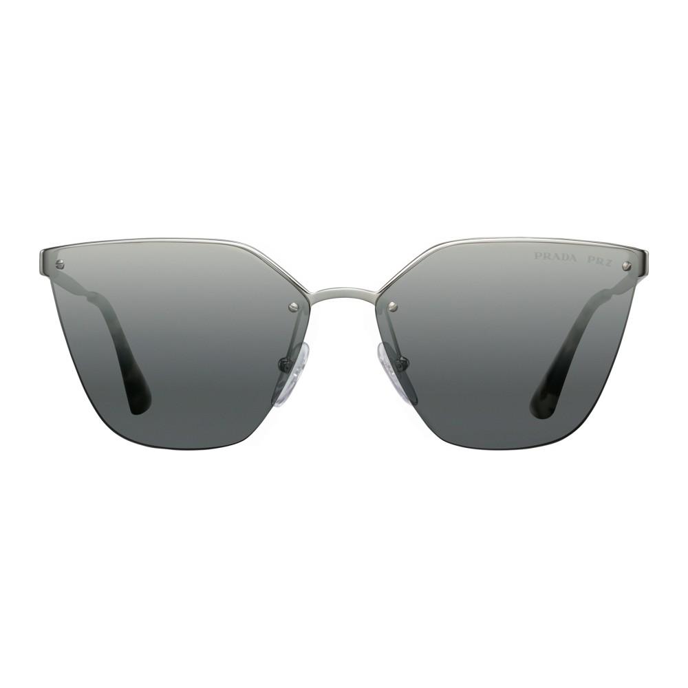 6a611210a0 Prada - Prada Cinéma - Dark Steel Irregular Cat Eye Sunglasses - Prada  Cinéma Collection ...