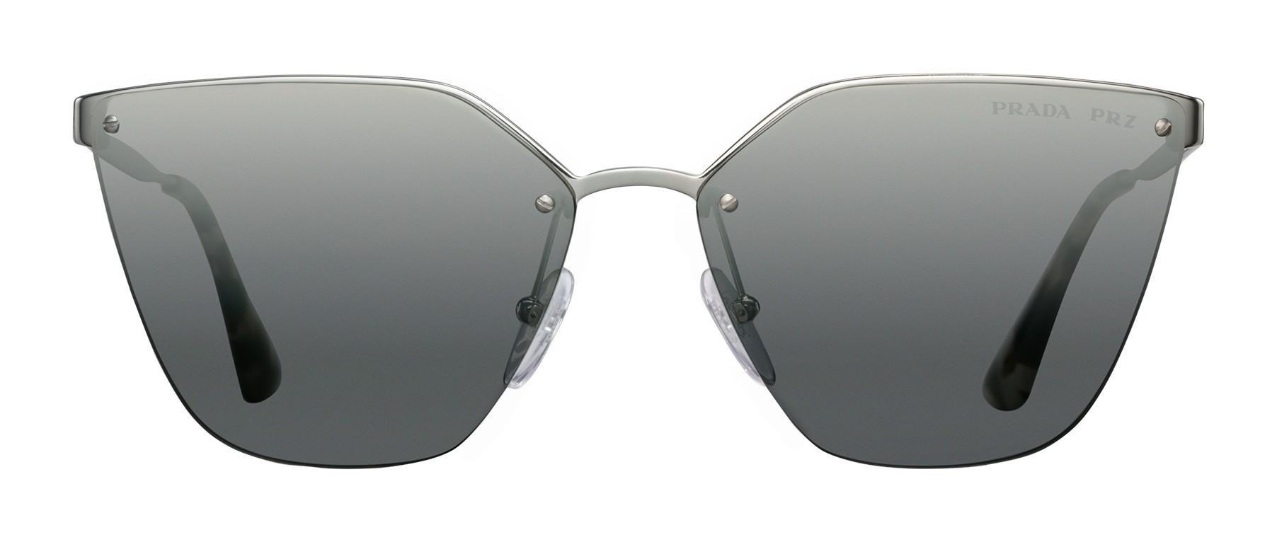 6a9d3f83478 Prada - Prada Cinéma - Dark Steel Irregular Cat Eye Sunglasses - Prada  Cinéma Collection - Sunglasses - Prada Eyewear