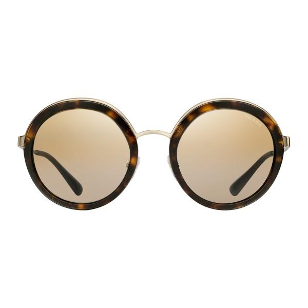 di prim'ordine f35e5 61383 Prada - Prada Cinéma - Occhiali Rotondi in Tartaruga - Prada Cinéma  Collection - Occhiali da Sole - Prada Eyewear - Avvenice