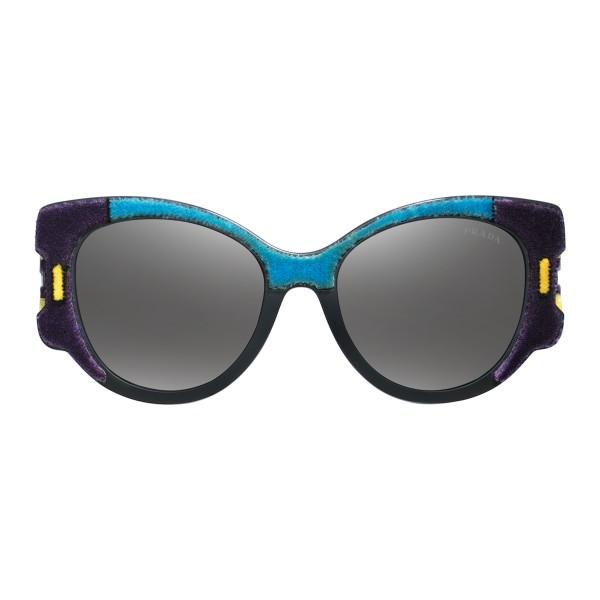 e8c0006607 Prada - Prada Tapestry - Violet Velvet Cat Eye Sunglasses - Prada Tapestry  Collection - Sunglasses