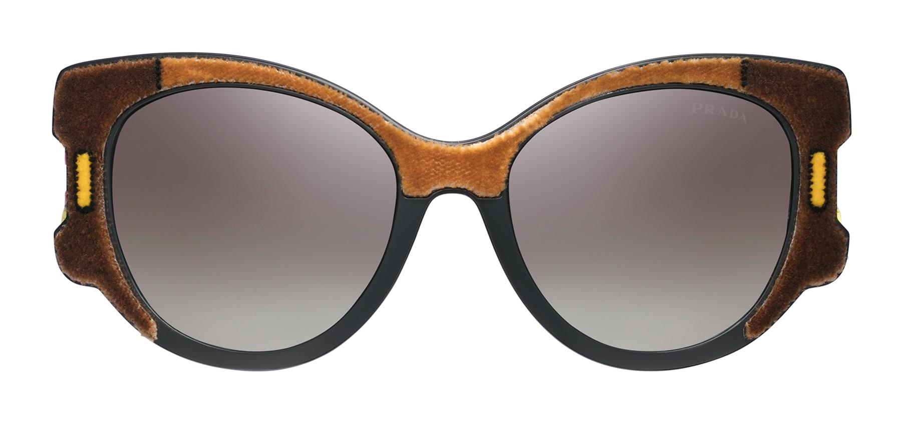 720330dd4f Prada - Prada Tapestry - Camel Velvet Cat Eye Sunglasses - Prada Tapestry  Collection - Sunglasses - Prada Eyewear