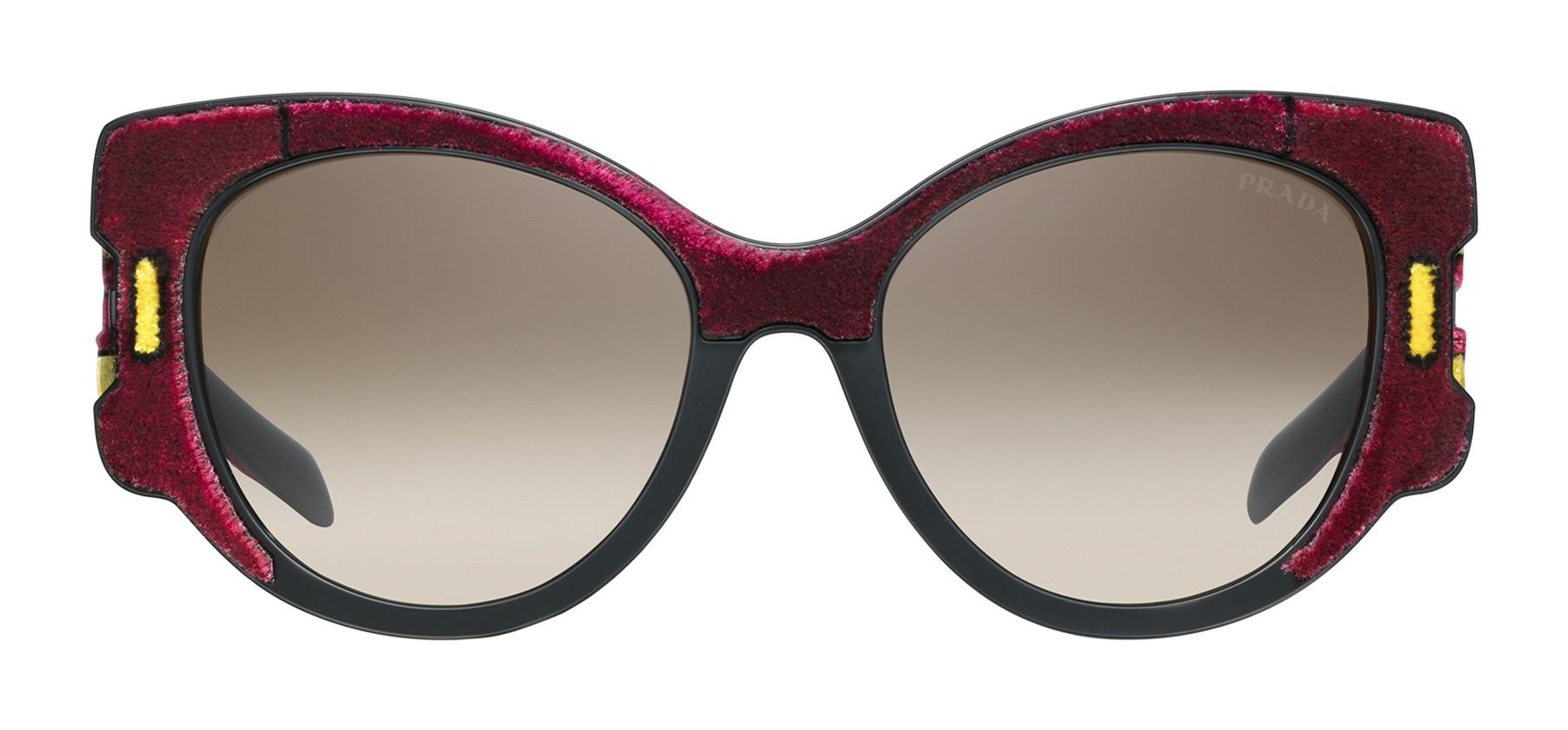 21051cfb0d Prada - Prada Tapestry - Amarena Velvet Cat Eye Sunglasses - Prada Tapestry  Collection - Sunglasses - Prada Eyewear