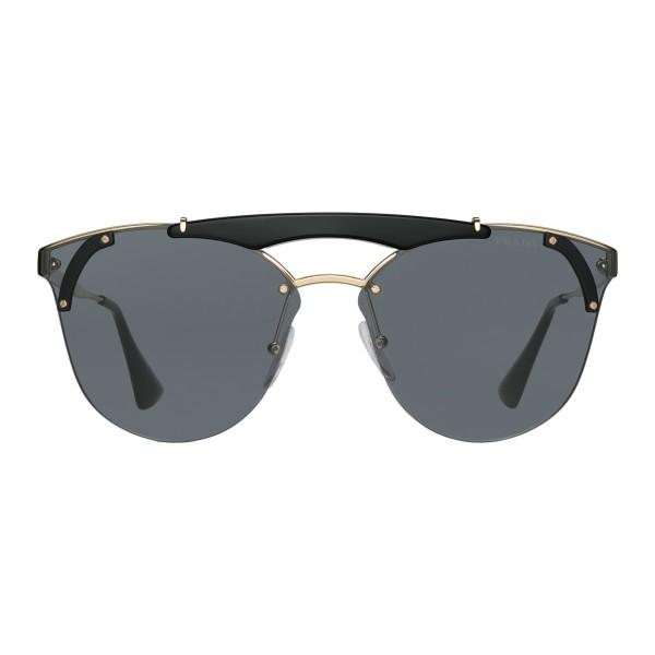 ef97a31575 Prada - Prada Ornate - Black Cat Eye Sunglasses - Prada Ornate Collection -  Sunglasses -