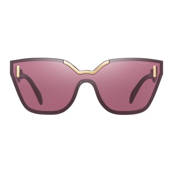 86a2ed432d Prada - Prada Hide - Bordeaux Cat Eye Unique Sunglasses - Prada Hide  Collection - Sunglasses - Prada Eyewear - Avvenice
