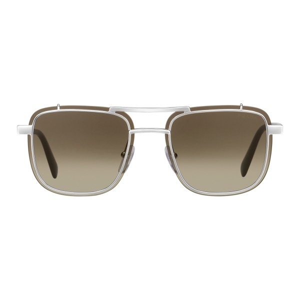 690286551562 Prada - Prada Game - Black Square Structure Top Bar Sunglasses - Prada Game  Collection -