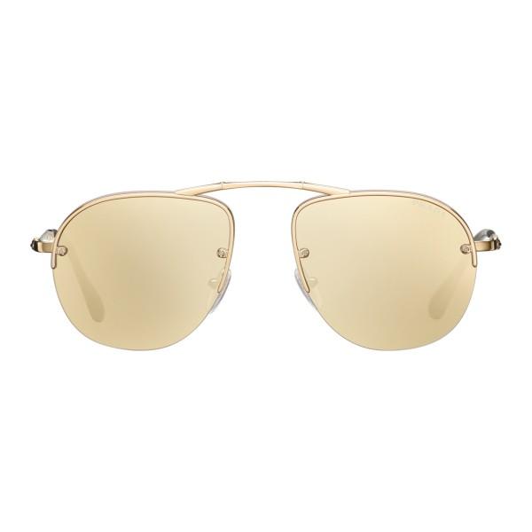 3c8829db27 Prada - Prada Teddy Folding - Pale Gold Aviator Sunglasses - Prada Teddy  Folding Collection -