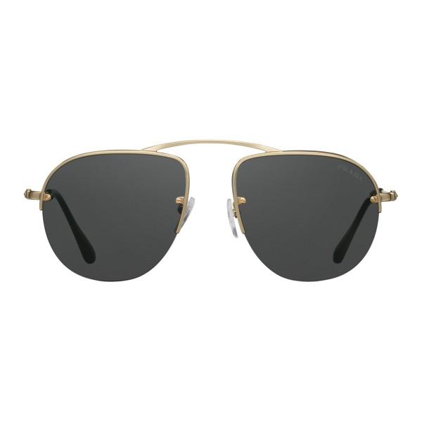 920a93249e Prada - Prada Teddy Folding - Pale Gold Aviator Pilot Sunglasses - Teddy  Folding Collection -