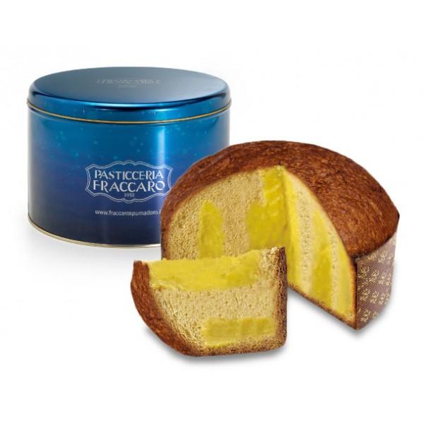Pasticceria Fraccaro - Limoncello Cream Panettone - Tin Line - Artisan Panettone - Fraccaro Spumadoro