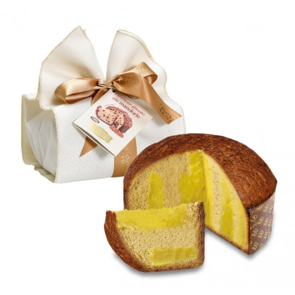 Pasticceria Fraccaro - Limoncello Cream Panettone - Elegance Wrapping - Artisan Panettone - Fraccaro Spumadoro