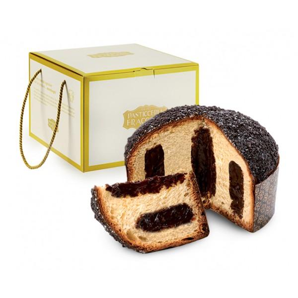 Pasticceria Fraccaro - Gianduia Cream Panettone - Gold Box - Artisan Panettone - Fraccaro Spumadoro