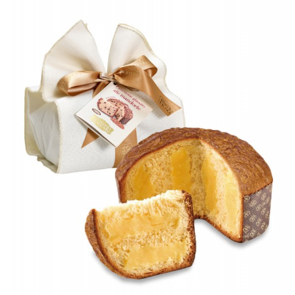 Pasticceria Fraccaro - Chantilly Cream Panettone - Elegance Wrapping - Artisan Panettone - Fraccaro Spumadoro