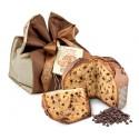 Pasticceria Fraccaro - Panettone al Cioccolato - Incarto Elegance - Panettone Artigianale - Fraccaro Spumadoro