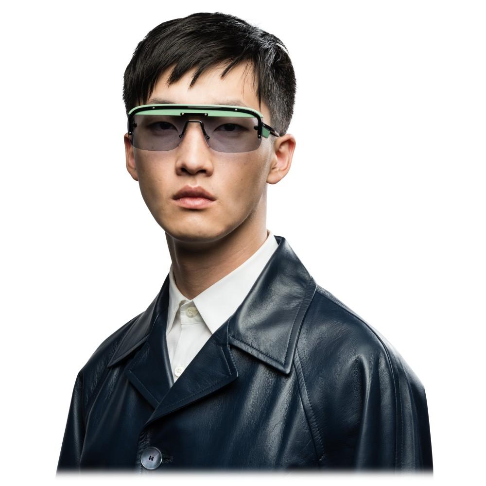 a6e0c23bc710b ... Prada - Prada Game - Black Agave Mask Sunglasses - Prada Game Collection  - Sunglasses -