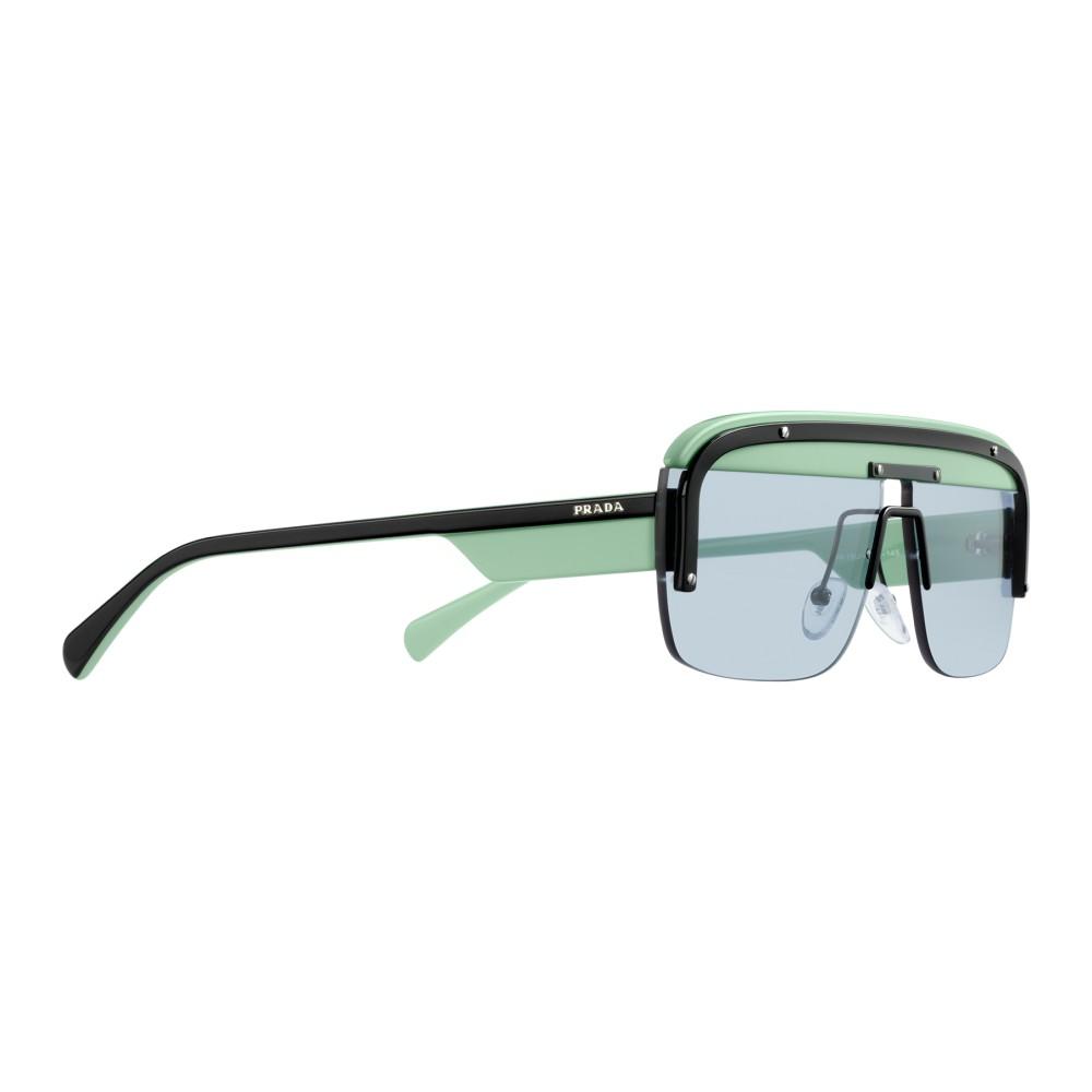 3af8613982442 ... Prada - Prada Game - Black Agave Mask Sunglasses - Prada Game Collection  - Sunglasses ...