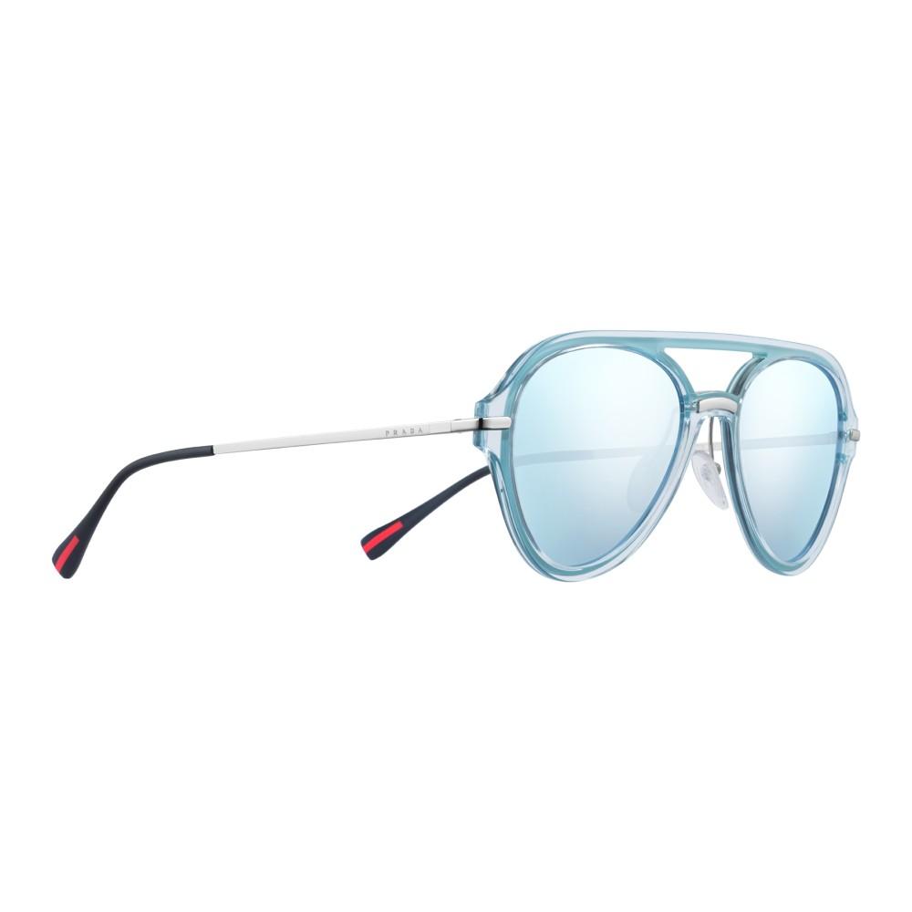 dc3e6714fd38 ... Prada - Prada Linea Rossa Spectrum - Lake Aviator Sunglasses - Prada  Spectrum Collection - Sunglasses ...