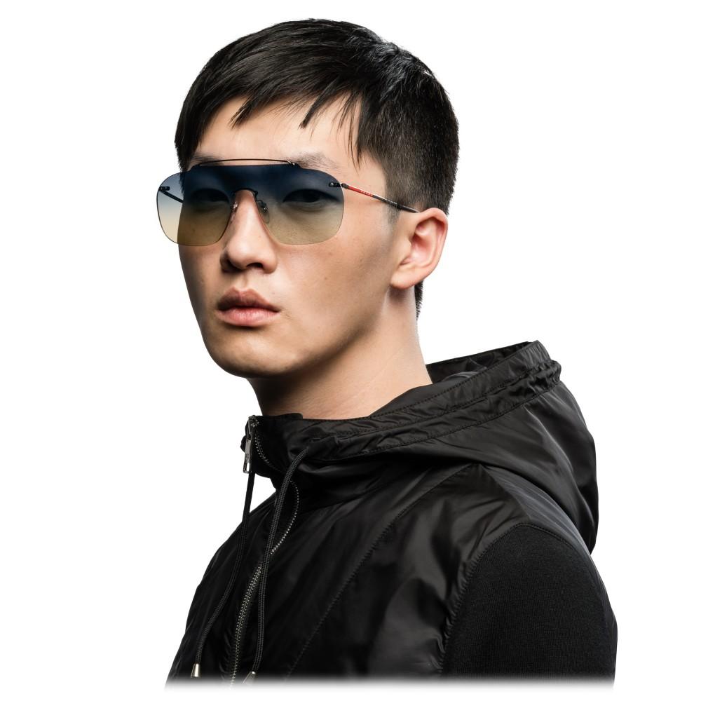294f404f521a ... Prada - Prada Linea Rossa Constellation - Lead Mask Sunglasses - Prada  Collection - Sunglasses -