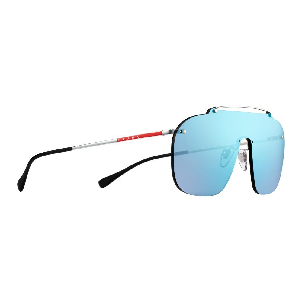 f13786458c68 ... Prada - Prada Linea Rossa Constellation - Blue Mask Sunglasses - Prada  Collection - Sunglasses ...