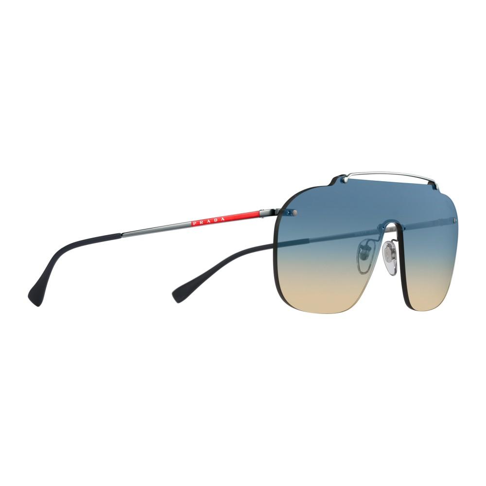 fd87e20bead7 ... Prada - Prada Linea Rossa Constellation - Lead Mask Sunglasses - Prada  Collection - Sunglasses ...