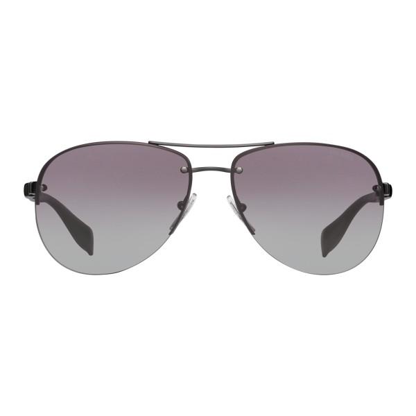 17b90f010e Prada - Prada Linea Rossa Collection - Lead Aviator Sunglasses - Prada  Collection - Sunglasses -