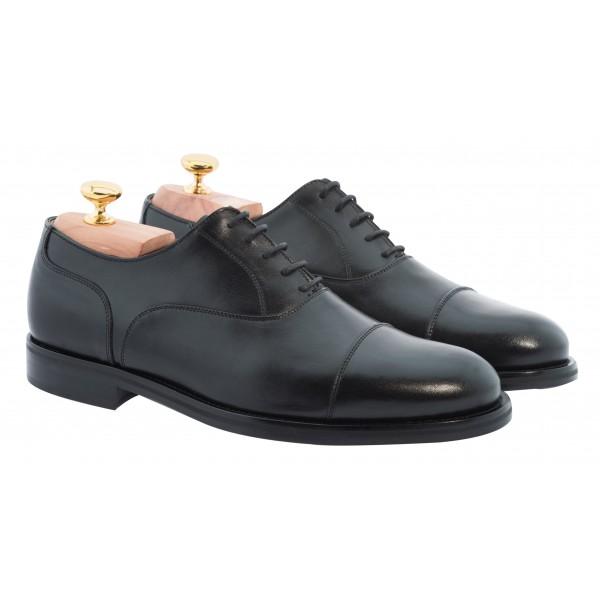 Bottega Senatore - Acilio - Oxford - Francesina - Scarpe Artigianali Italiane Uomo - Scarpa in Pelle di Alta Qualità