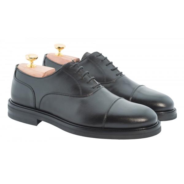 Bottega Senatore - Artenio - Oxford - Francesina - Scarpe Artigianali Italiane Uomo - Scarpa in Pelle di Alta Qualità