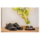Bottega Senatore - Aburio - Oxford - Francesina - Italian Handmade Man Shoes - High Quality Leather Shoes