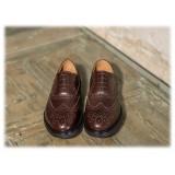 Bottega Senatore - Anneo - Oxford - Francesina - Italian Handmade Man Shoes - High Quality Leather Shoes