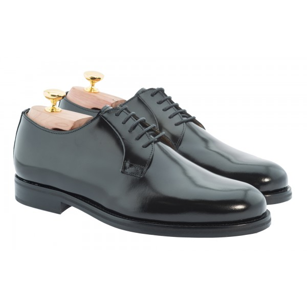 Bottega Senatore - Blesio - Derby - Scarpe Artigianali Italiane Uomo - Scarpa in Pelle di Alta Qualità