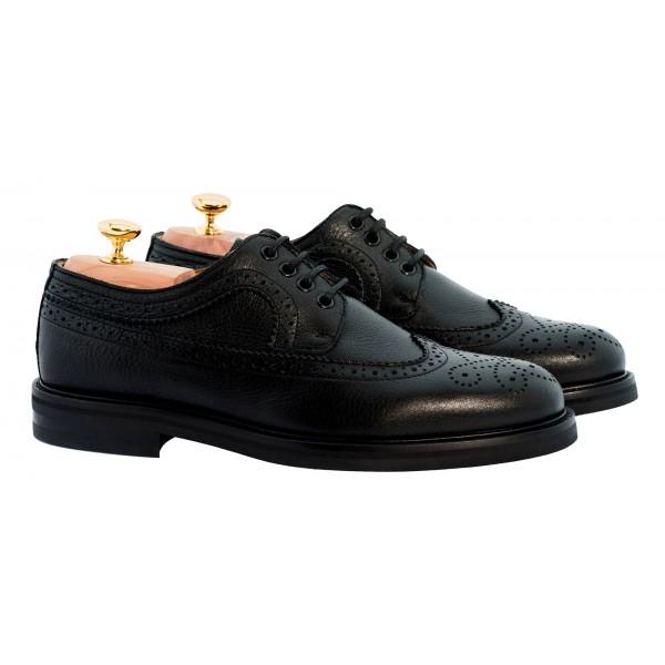 Bottega Senatore - Blandio - Derby - Italian Handmade Man Shoes - High Quality Leather Shoes