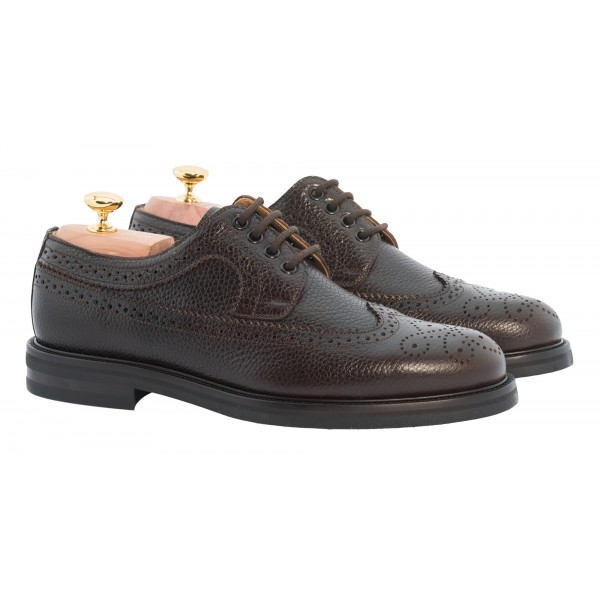 Bottega Senatore - Benedetto - Derby - Scarpe Artigianali Italiane Uomo - Scarpa in Pelle di Alta Qualità