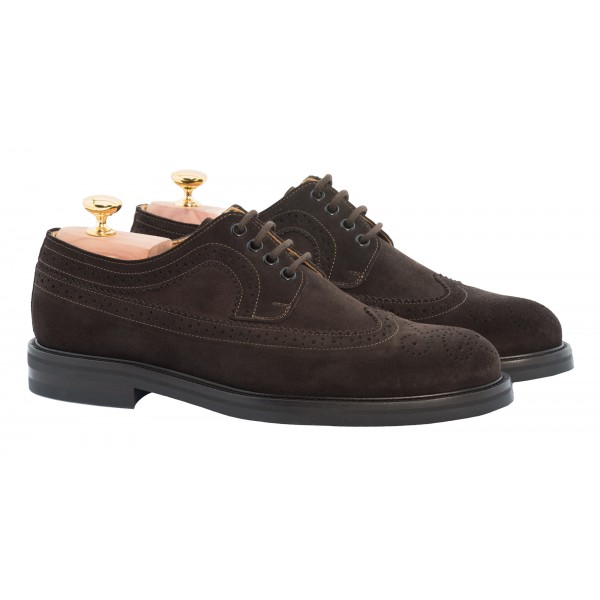 Bottega Senatore - Bardo - Derby - Scarpe Artigianali Italiane Uomo - Scarpa in Pelle di Alta Qualità