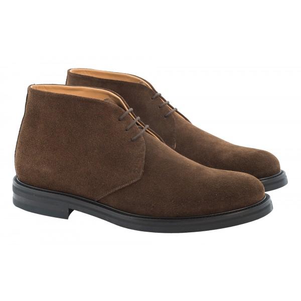 Bottega Senatore - Manio - Ankle Boot - Scarpe Artigianali Italiane Uomo - Scarpa in Pelle di Alta Qualità
