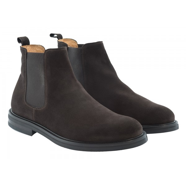 Bottega Senatore - Novio - Chelsea Boots - Italian Handmade Man Shoes - High Quality Leather Shoes