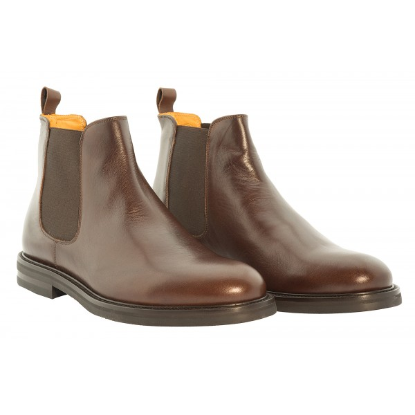 Bottega Senatore - Nipio - Chelsea Boots - Italian Handmade Man Shoes - High Quality Leather Shoes