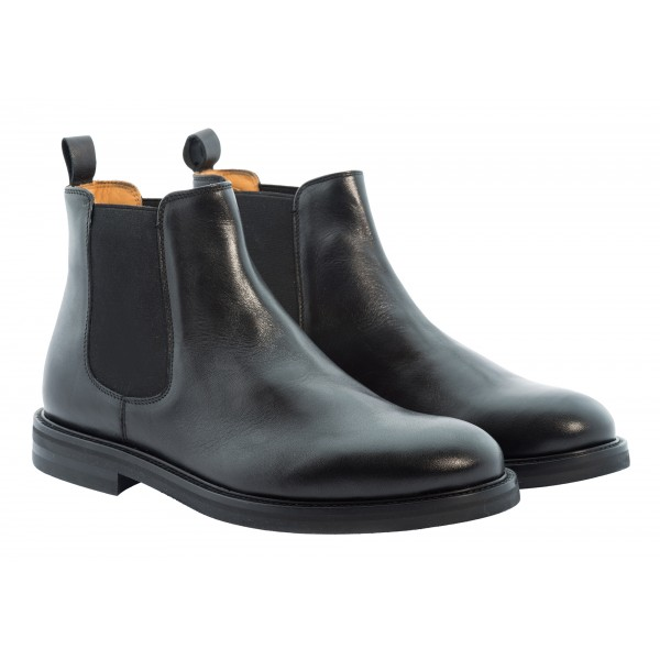 Bottega Senatore - Nerone - Chelsea Boots - Italian Handmade Man Shoes - High Quality Leather Shoes