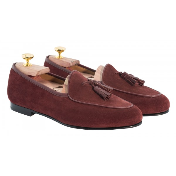 Bottega Senatore - Vedio - Mocassino - Tassels - Italian Handmade Man Shoes - High Quality Leather Shoes