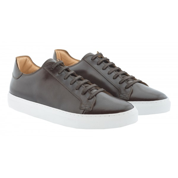 Bottega Senatore - Clovio - Sneakers - Italian Handmade Man Shoes - High Quality Leather Shoes