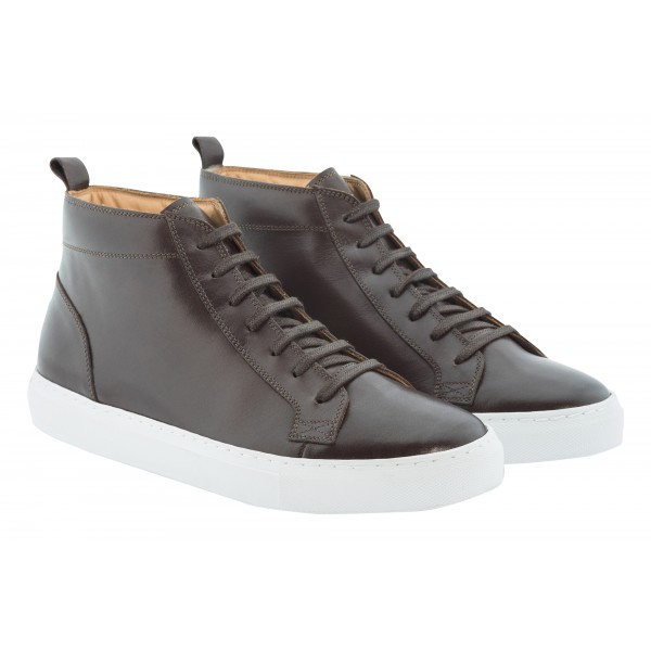 Bottega Senatore - Camilio - Sneakers - Italian Handmade Man Shoes - High Quality Leather Shoes