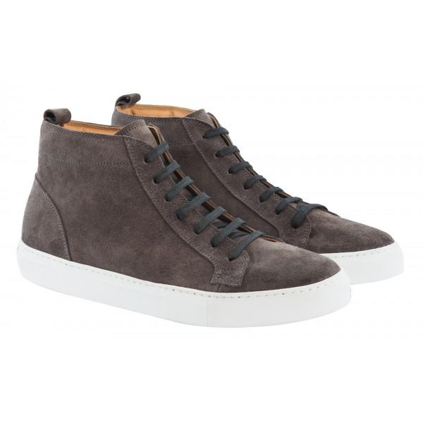 Bottega Senatore - Cosso - Sneakers - Italian Handmade Man Shoes - High Quality Leather Shoes