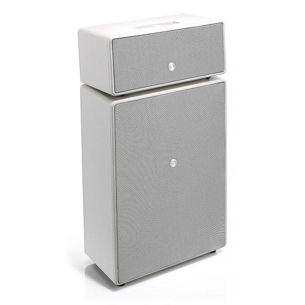 Audio Pro - Drumfire - White - Multiroom Speaker - Digital Amplifier - WiFi, Bluetooth 4.0