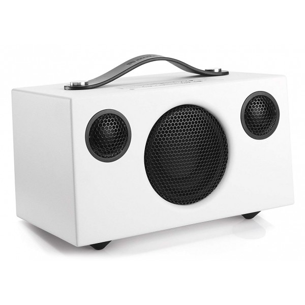 Audio Pro - Addon C3 - Bianco - Altoparlante di Alta Qualità - WLAN Multi-Room - Airplay, Stereo, Bluetooth, Wireless, WiFi