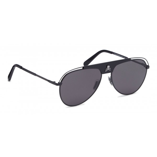 Philipp Plein - Charlie Basic Collection - Metallo Nero - Occhiali da Sole - Philipp Plein Eyewear