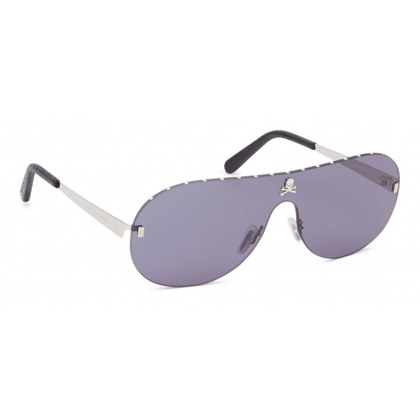 Philipp Plein - Target Studded Collection - Nero e Fumo - Occhiali da Sole - Philipp Plein Eyewear