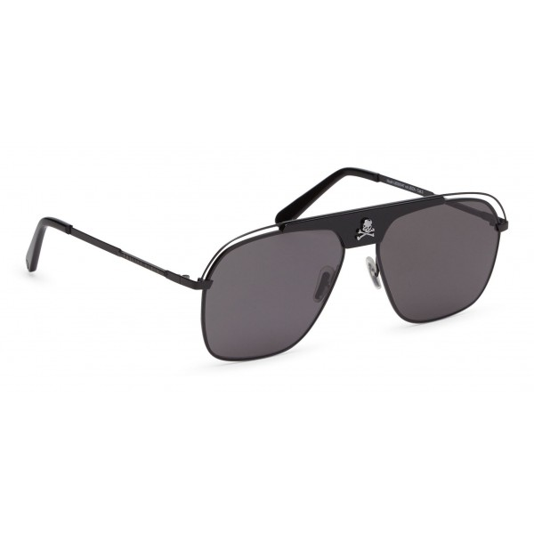 Philipp Plein - Noah Basic Collection - Black Grey Smoke - Sunglasses - Philipp Plein Eyewear