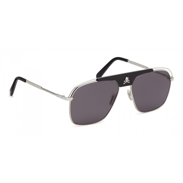 Philipp Plein - Noah Basic Collection - Black Palladium Fumè - Sunglasses - Philipp Plein Eyewear