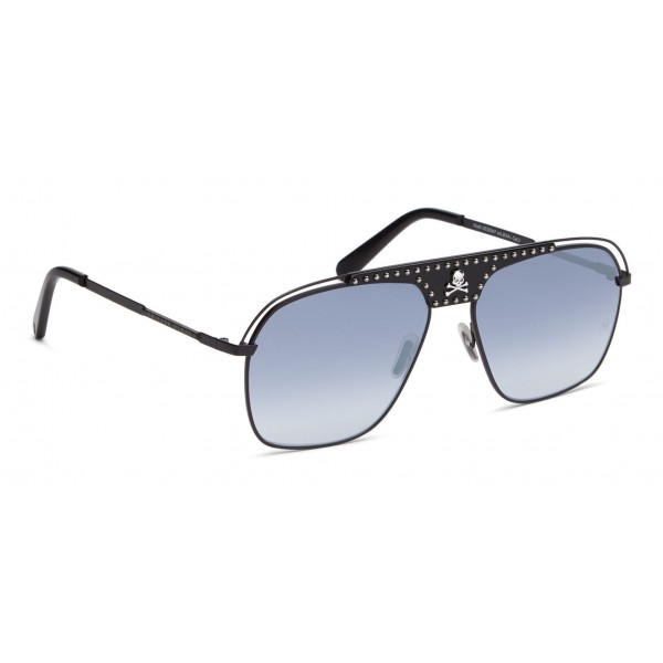 Philipp Plein - Noah Studded Collection - Black Blue Gradient - Sunglasses - Philipp Plein Eyewear
