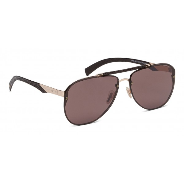 Philipp Plein - Calypso Basic Collection - Gold Brown - Sunglasses - Philipp Plein Eyewear