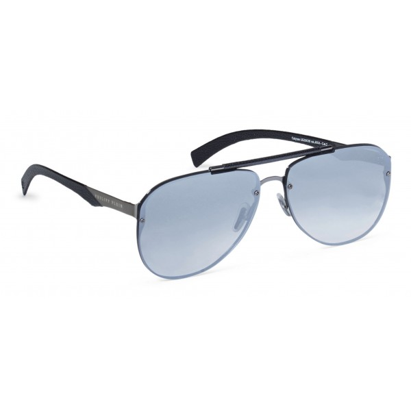 Philipp Plein - Calypso Basic Collection - Nero Nickel Specchiato - Occhiali da Sole - Philipp Plein Eyewear