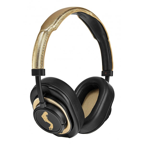 Master & Dynamic - MW50+ - Black / Gold - Michael Jackson - Limited Edition - Premium High Quality Wireless Headphones 2-in-1